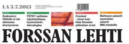 forssan lehti cover