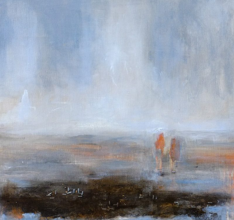 south coast aspects - soil, original painting by hela donela